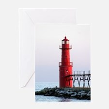 ALGOMA LIGHTHOUSE Greeting Card
