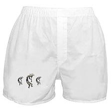 SILVER KOKOPELLI Boxer Shorts