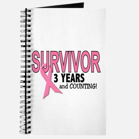 Breast Cancer Survivor 3 Years Journal