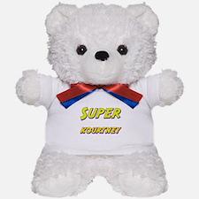 Super kourtney Teddy Bear