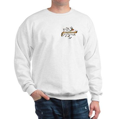 Crocheting Scroll Sweatshirt