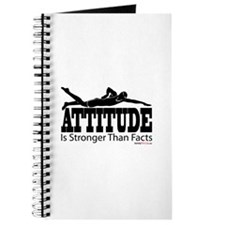 Attitude Is Stronger Swimming Journal