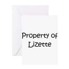 Unique Lizette Greeting Card