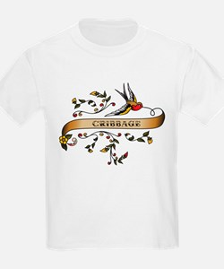 Cribbage Scroll T-Shirt