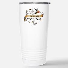 Cribbage Scroll Travel Mug