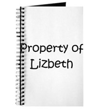Cute Lizbeth Journal