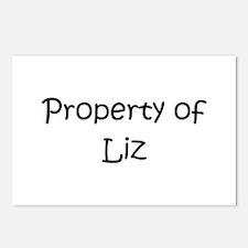 Cute Liz Postcards (Package of 8)