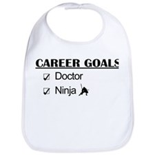 Doctor Career Goals Ninja Bib