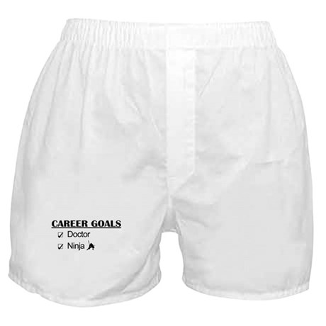 Doctor Career Goals Ninja Boxer Shorts