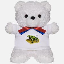 Fire-Bellied Toad Teddy Bear