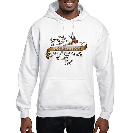 Corrections Scroll Hooded Sweatshirt