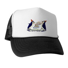 hApPy BiRtHdAy! Trucker Hat