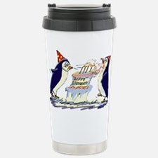 hApPy BiRtHdAy! Stainless Steel Travel Mug