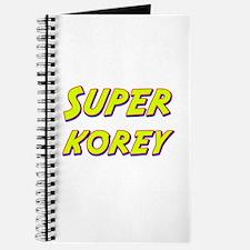Super korey Journal