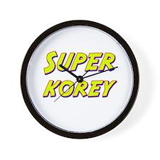 Super korey Wall Clock