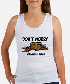 dont worry frntonly Women's Tank Top