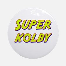 Super kolby Ornament (Round)