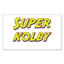 Super kolby Rectangle Decal