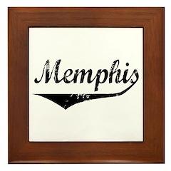 Memphis Framed Tile