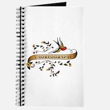 Choreography Scroll Journal