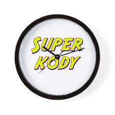 Super kody Wall Clock