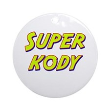 Super kody Ornament (Round)