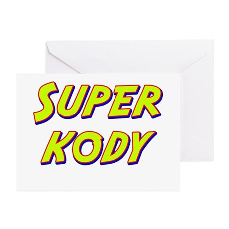 Super kody Greeting Cards (Pk of 10)