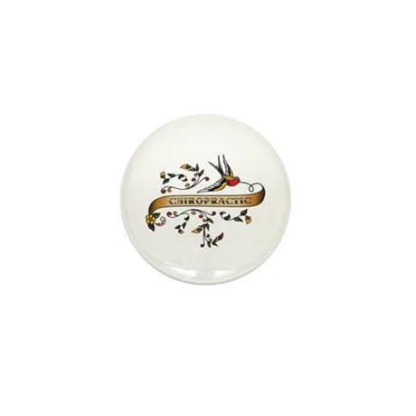 Chiropractic Scroll Mini Button (10 pack)
