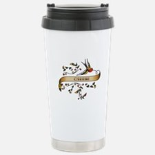 Cheese Scroll Stainless Steel Travel Mug