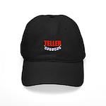 Retired Teller Black Cap
