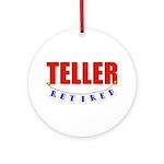 Retired Teller Ornament (Round)