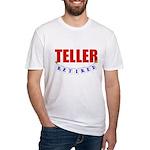 Retired Teller Fitted T-Shirt