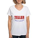 Retired Teller Women's V-Neck T-Shirt