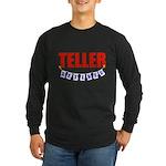 Retired Teller Long Sleeve Dark T-Shirt