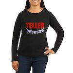 Retired Teller Women's Long Sleeve Dark T-Shirt