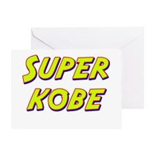 Super kobe Greeting Card