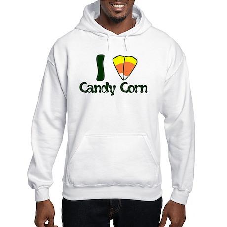 I LOVE CANDY CORN Hooded Sweatshirt