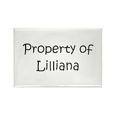 Unique Lilliana Rectangle Magnet