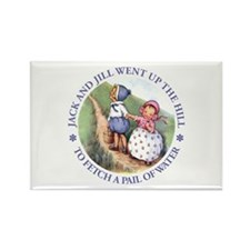 JACK & JILL WENT UP THE HILL Rectangle Magnet