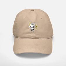 Girl & Trombone Baseball Baseball Cap