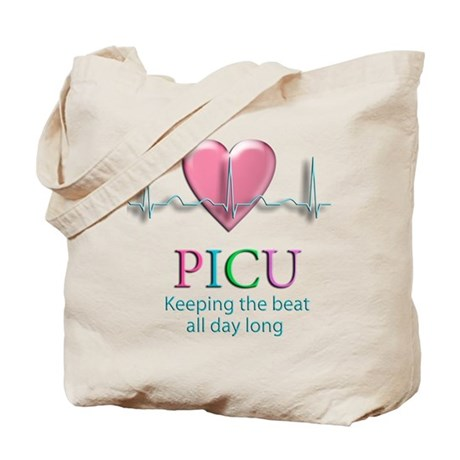 PICU Keeping the beat all day Tote Bag