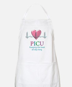PICU Keeping the beat all day BBQ Apron