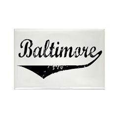 Baltimore Rectangle Magnet