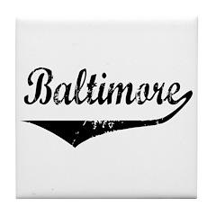 Baltimore Tile Coaster