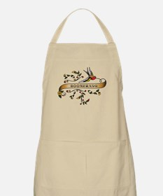 Boomerang Scroll BBQ Apron