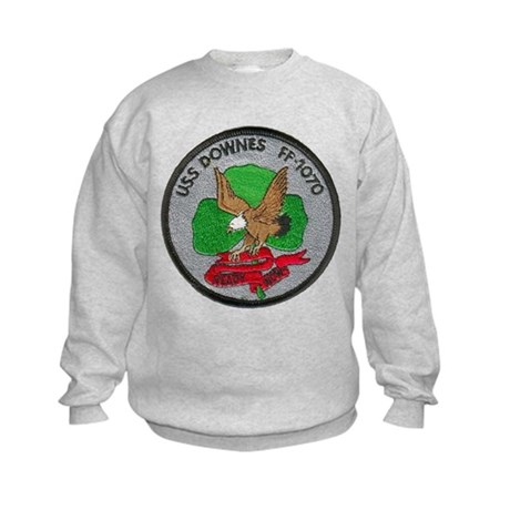 USS DOWNES Kids Sweatshirt