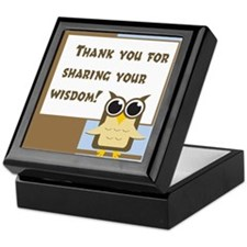 Teacher Appreciation Cards & Keepsake Box
