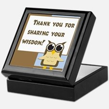 Teacher Appreciation Cards & Keepsake Box