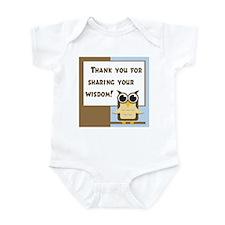 Teacher Appreciation Cards & Infant Bodysuit