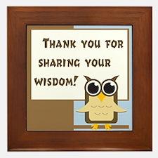 Teacher Appreciation Cards & Framed Tile